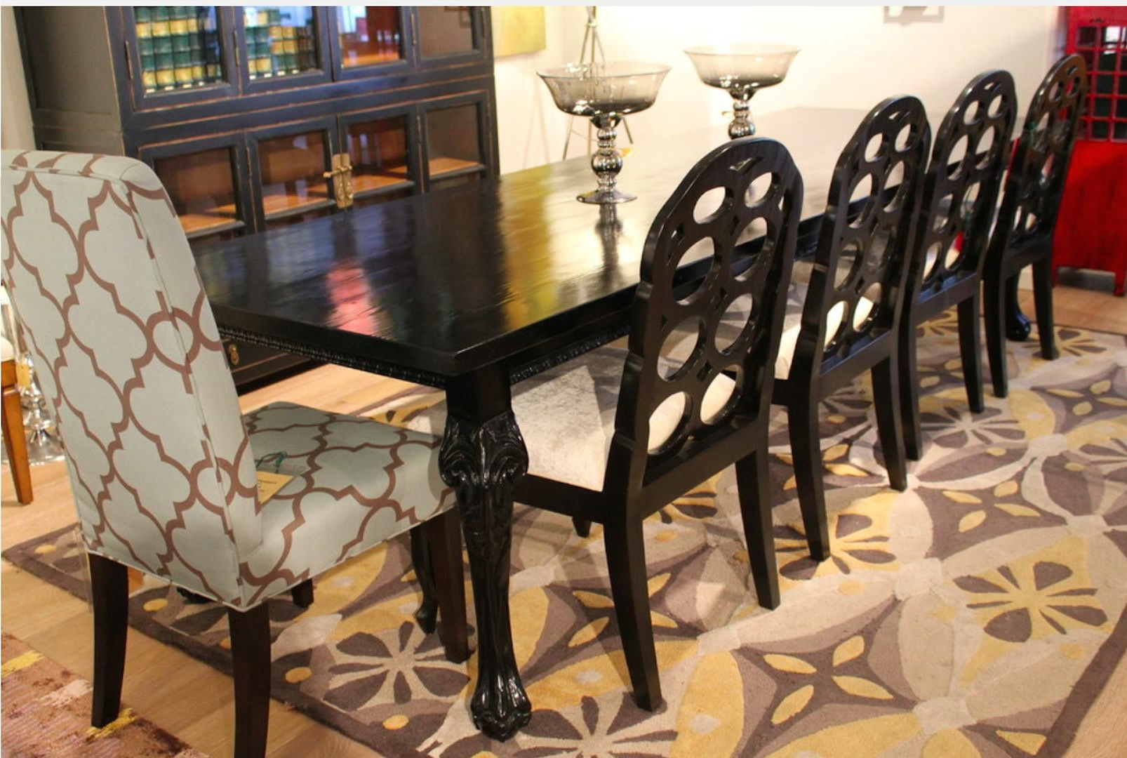 Hearst Reclaimed Wood Dining Table And Rosalind Chair with regard to Favorite Hearst Oak Wood Dining Tables