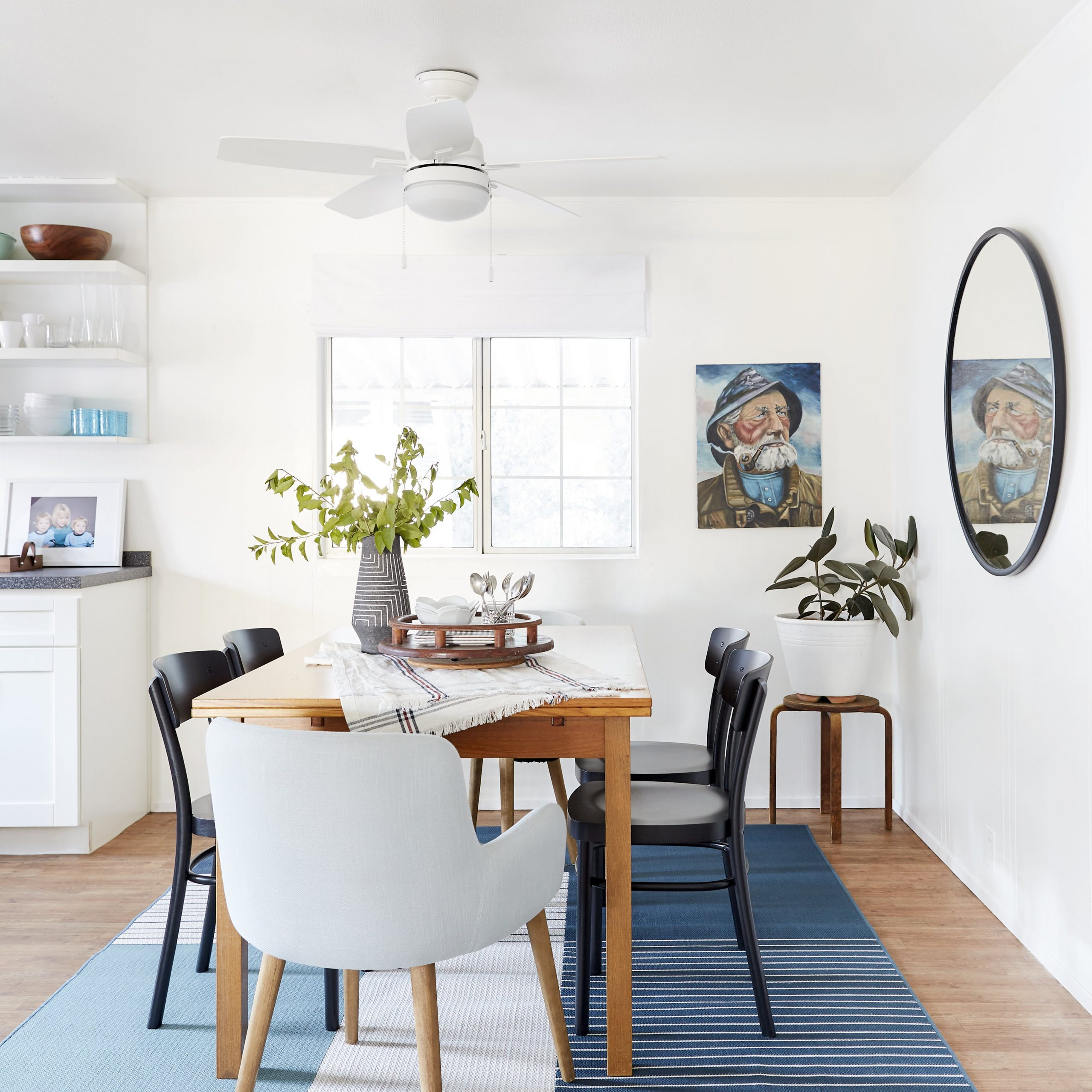 How To Mix And Match Dining Chairs Like A Boss (+ 28 Pairs with Favorite Shaw Dining Tables, Blonde Oak