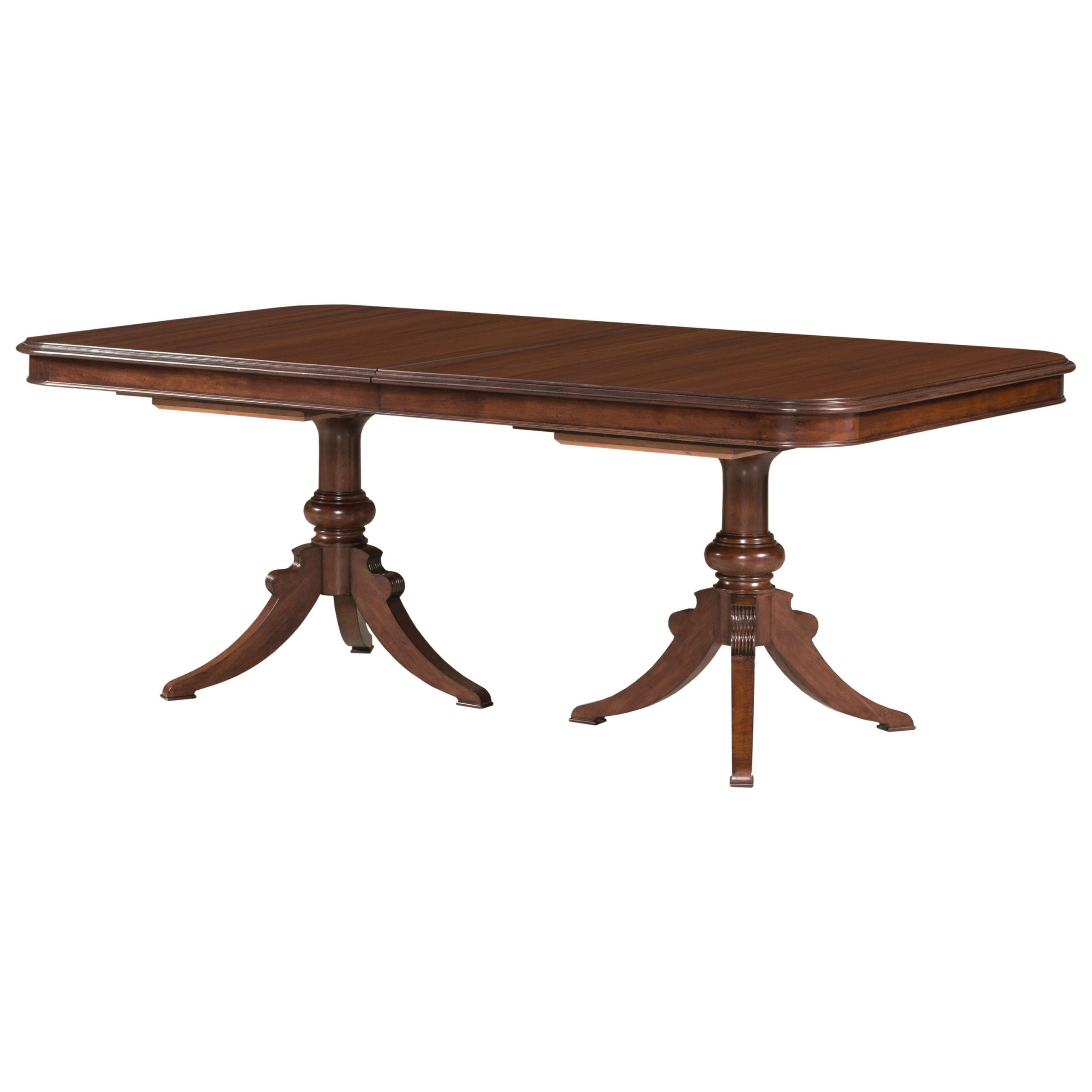 Kincaid Furniture Hadleigh Traditional Double Pedestal with Favorite Dawson Pedestal Dining Tables
