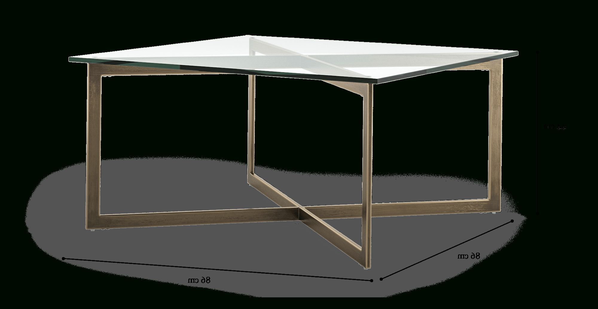 Kipling Glass Top Coffee Table in Most Current Kipling Rectangular Dining Tables