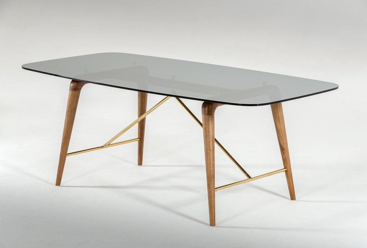 Kipling Rectangular Dining Tables with regard to Well-liked Amazon - Vig Furniture Modrest Kipling Collection Modern