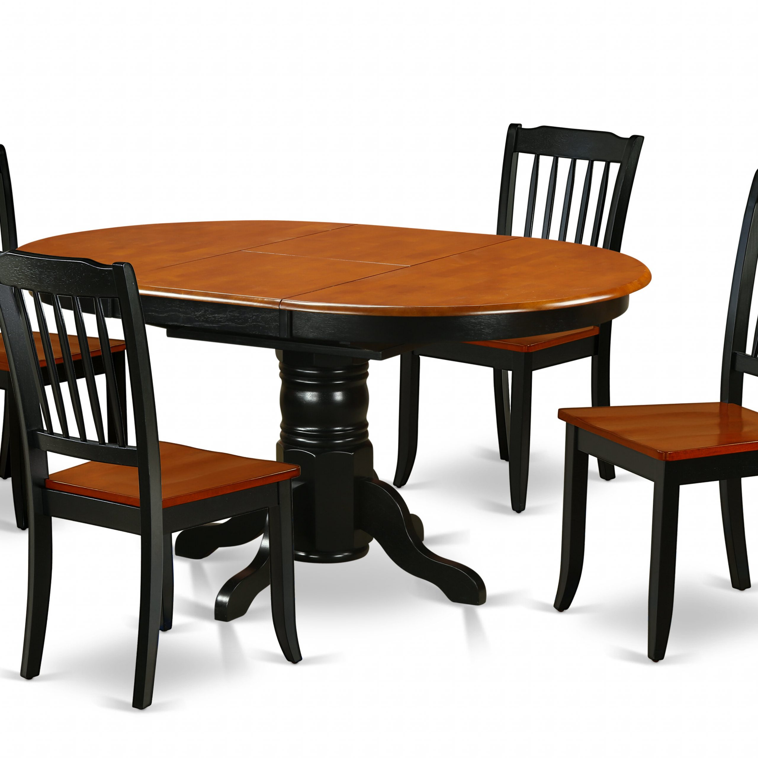 Kyser 5 Piece Extendable Solid Wood Dining Set pertaining to Widely used Weathered Gray Owen Pedestal Extending Dining Tables