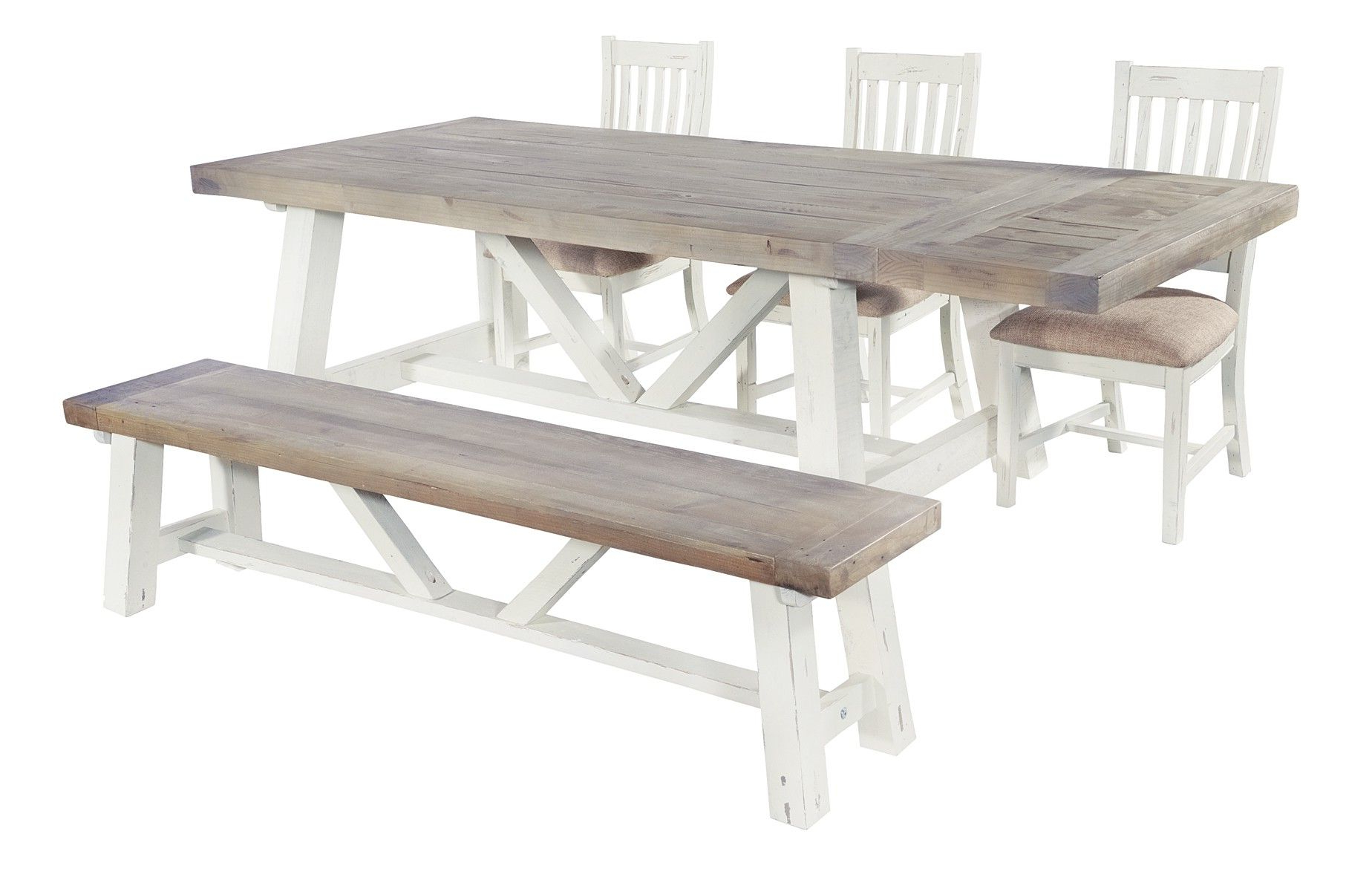Langton Reclaimed Wood Dining Tables Regarding Famous Langton End Extending 200Cm Dining Table (View 5 of 25)