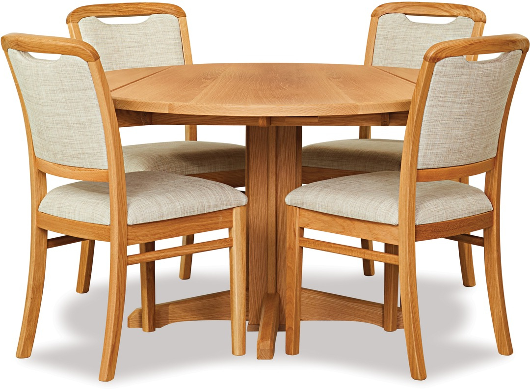Latest Avondale Dining Tables Throughout Avondale Double Drop Leaf Dining Table & Melody Chairs (View 25 of 25)