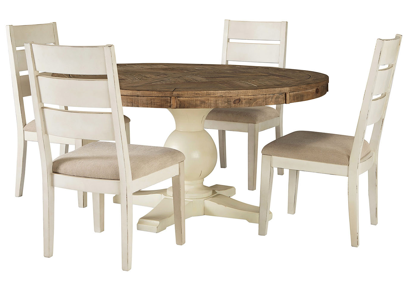 Latest Linden Round Pedestal Dining Tables In All Brands Furniture – Edison, Greenbrook, North Brunswick (View 25 of 25)