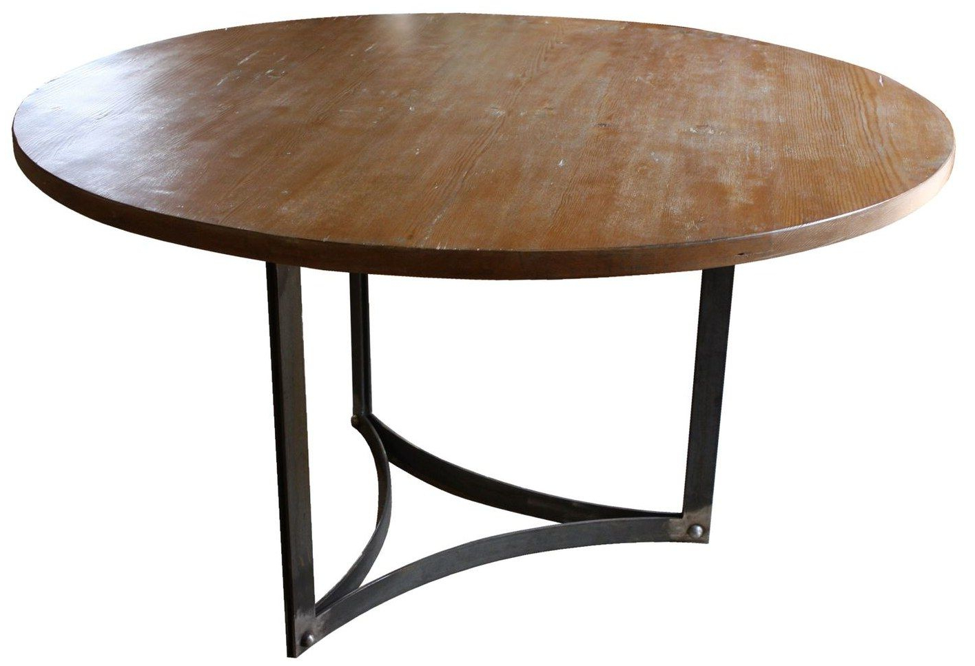 Latest Linden Round Pedestal Dining Tables Throughout Dining Table, : Modern Rustic Dining Room Design Ideas With (View 9 of 25)
