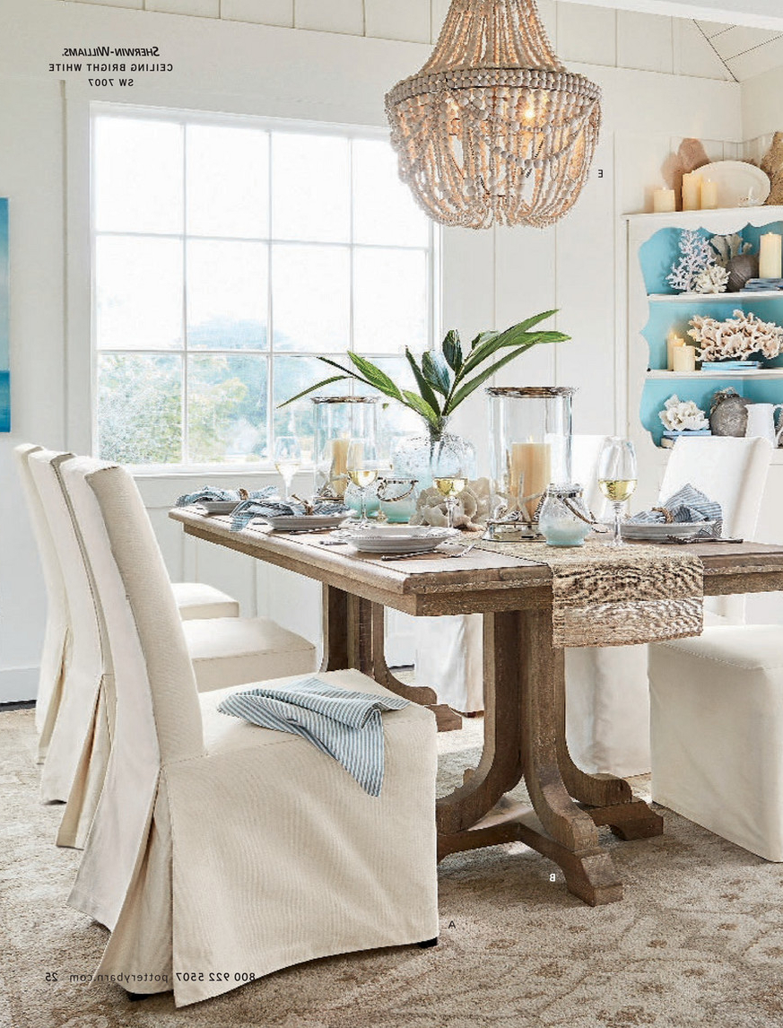 Linden Round Pedestal Dining Tables Throughout Popular Pottery Barn – Summer 2017 D1 – Linden Pedestal Dining Table (View 17 of 25)