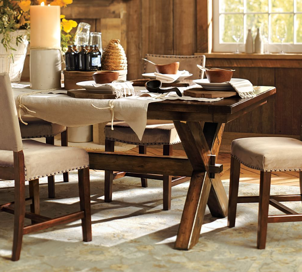 Mesas Intended For Tuscan Chestnut Toscana Dining Tables (View 11 of 25)
