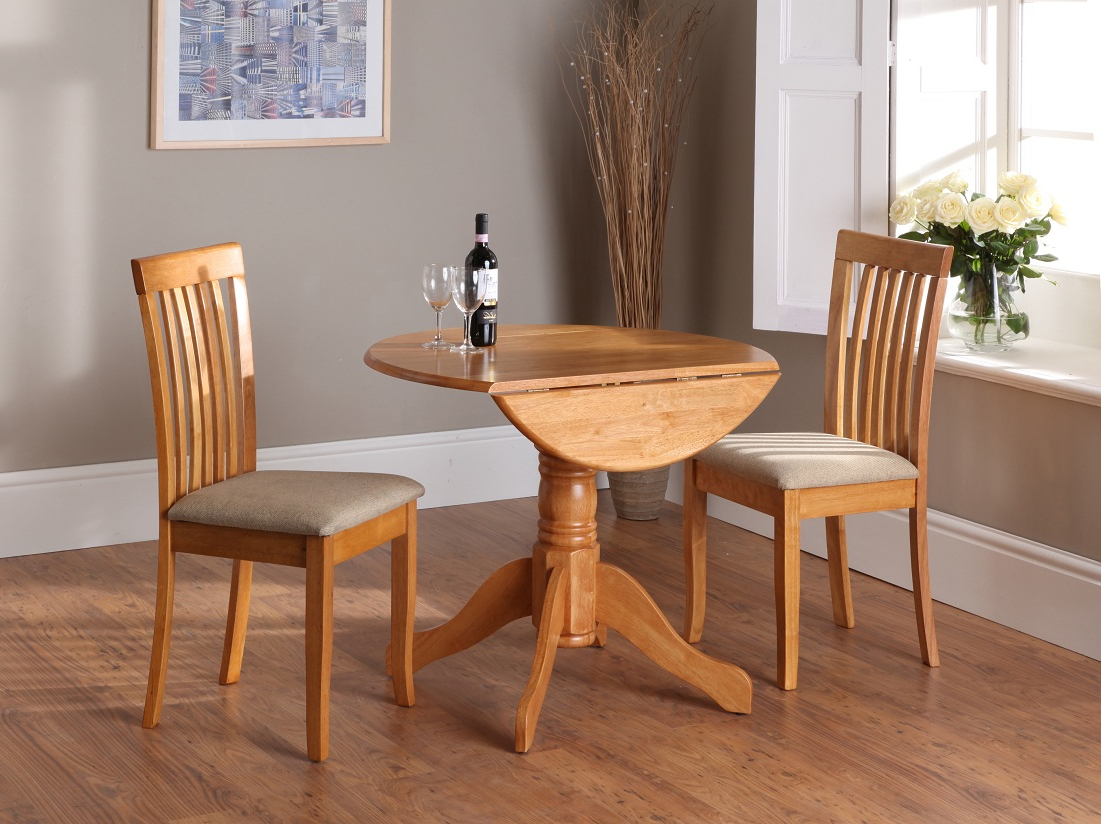 Modern Drop Leaf Kitchen Table Set 3 For Different Way Of Intended For Famous Antique White Shayne Drop Leaf Kitchen Tables (View 12 of 25)