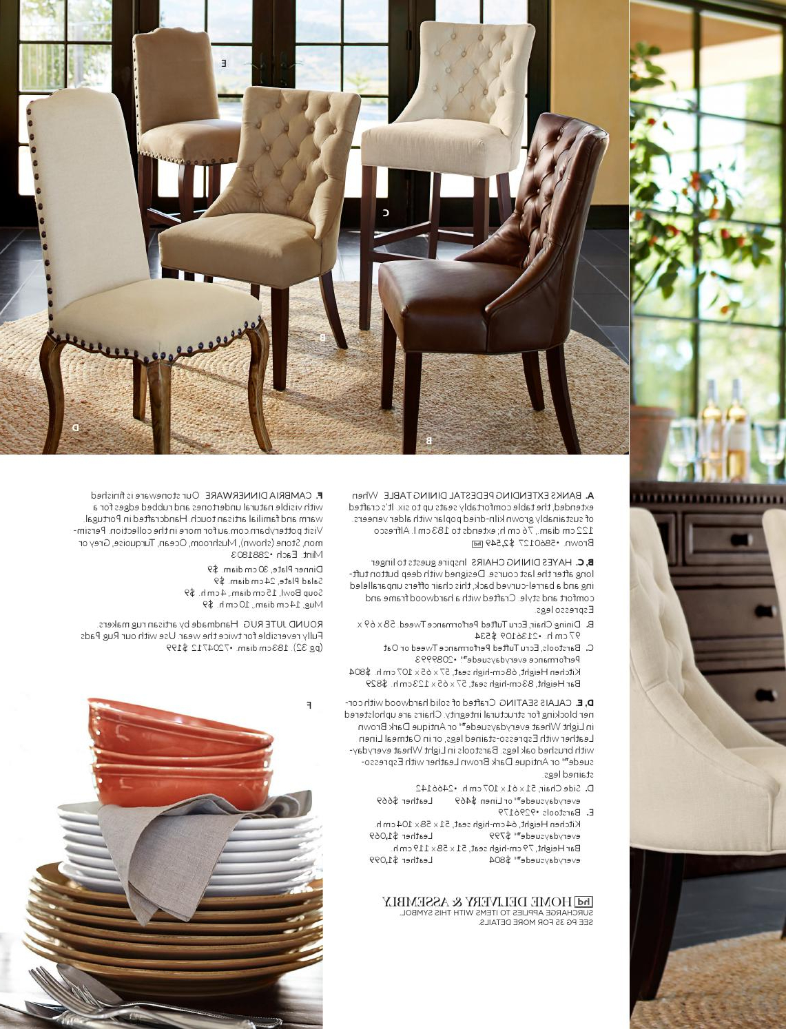 Most Current Alfresco Brown Banks Pedestal Extending Dining Tables Within Pottery Barn Australia Autumn Catalogue 2015Williams (View 18 of 25)