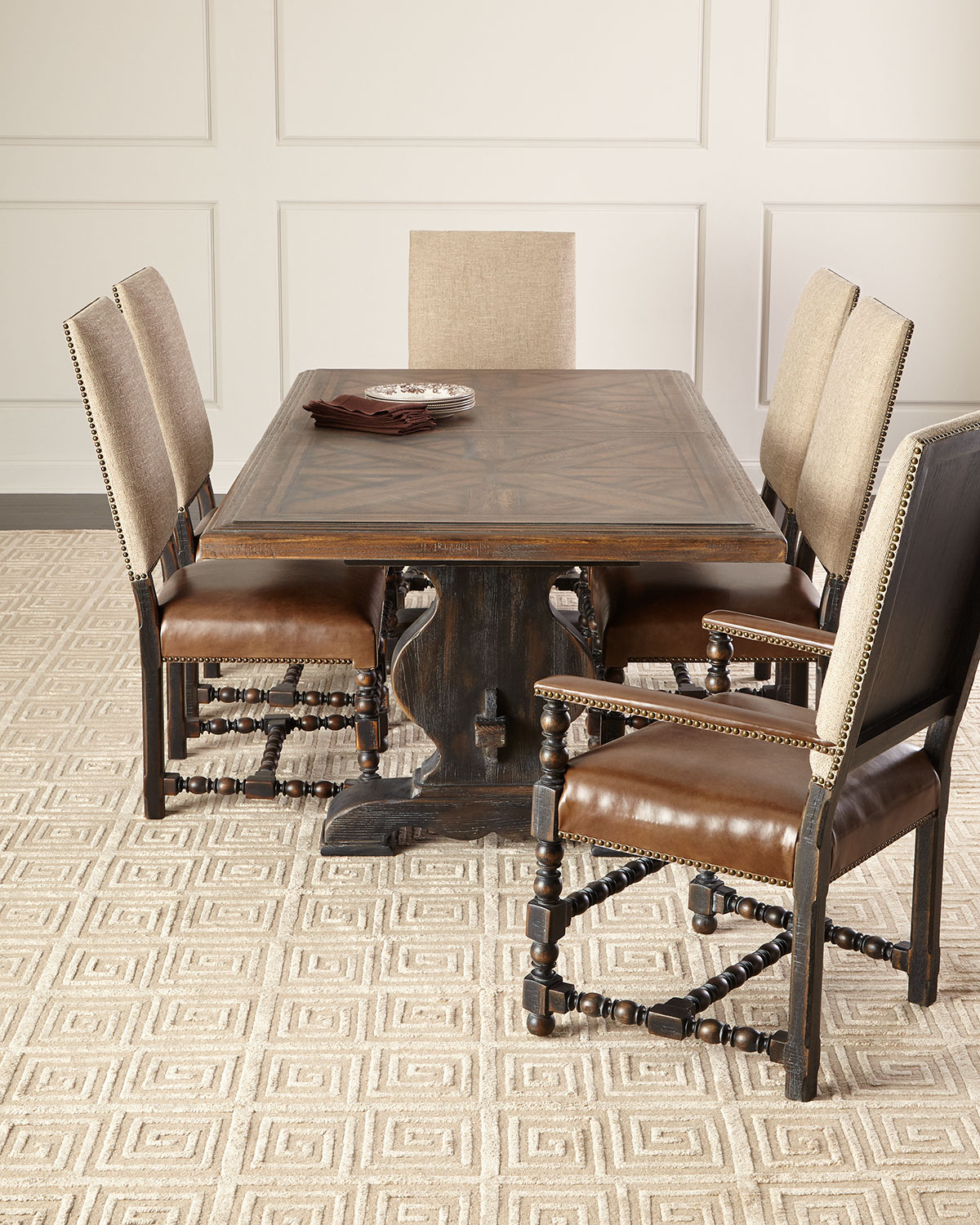 Most Current Casella Pedestal Dining Table Regarding Avery Rectangular Dining Tables (View 16 of 25)