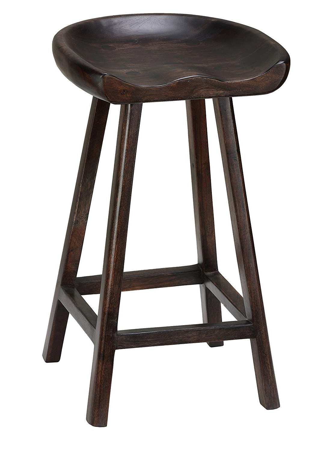 Most Current Lucy Bar Height Dining Tables Inside Amazon: Bare Decor Lucy Wooden Counter Stool,  (View 14 of 25)