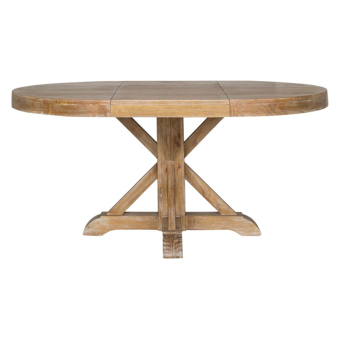 Most Current Thorne Extension Dining Table, Natural In  (View 19 of 25)