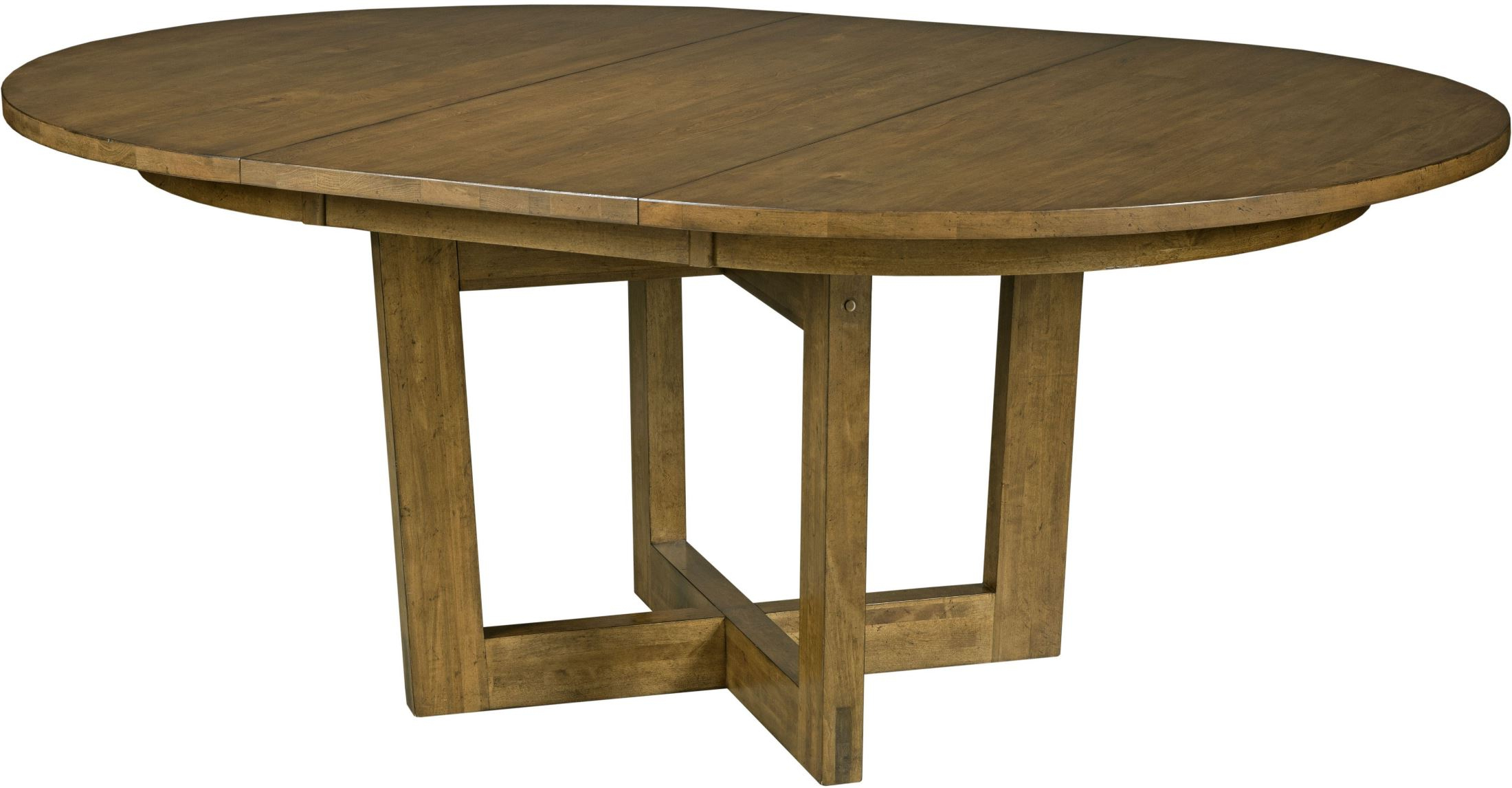 """Most Popular Traverse Brown 54"""" Drop Leaf Round Dining Table In Montalvo Round Dining Tables (View 14 of 25)"""