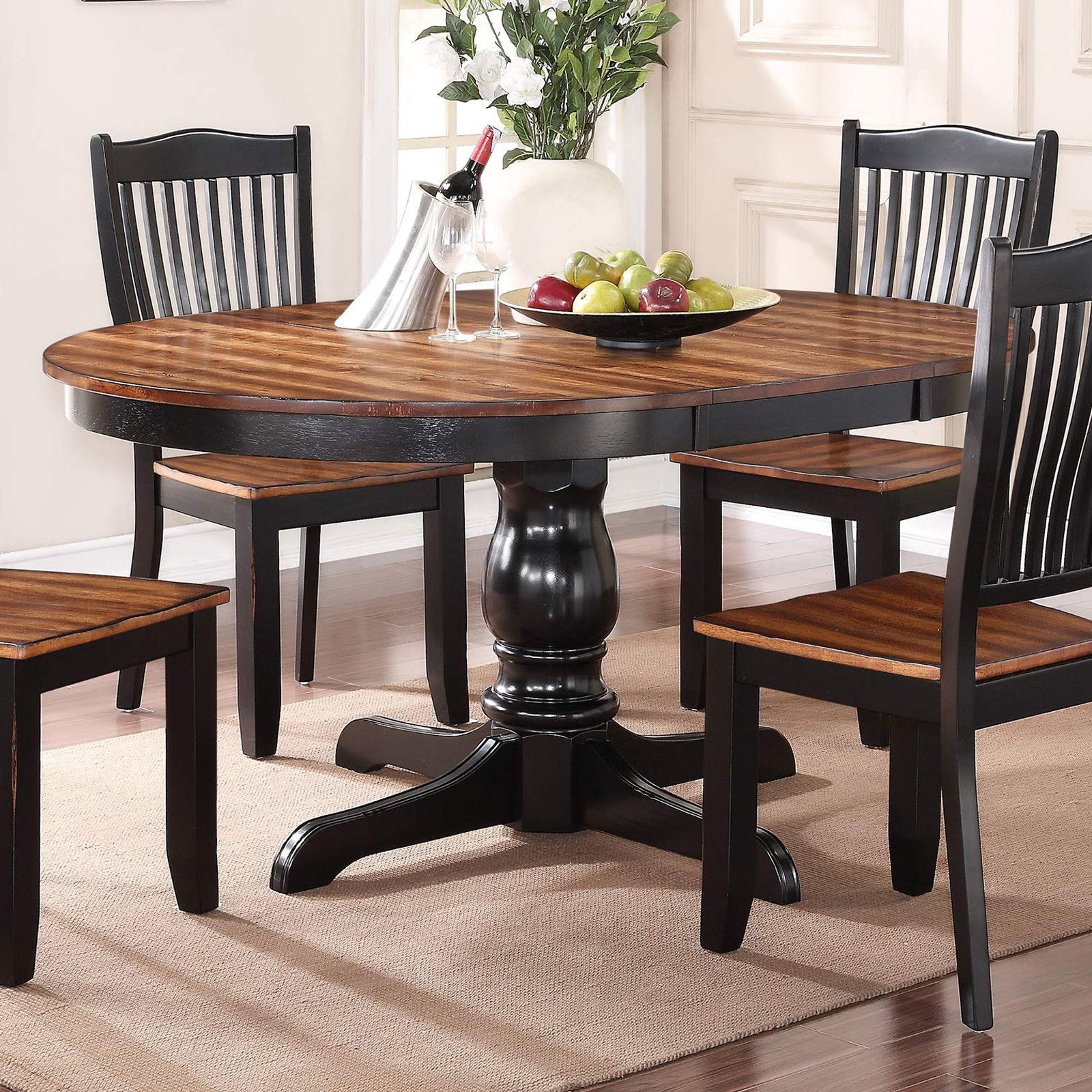Most Popular Winners Only Carson Pedestal Table (View 9 of 25)