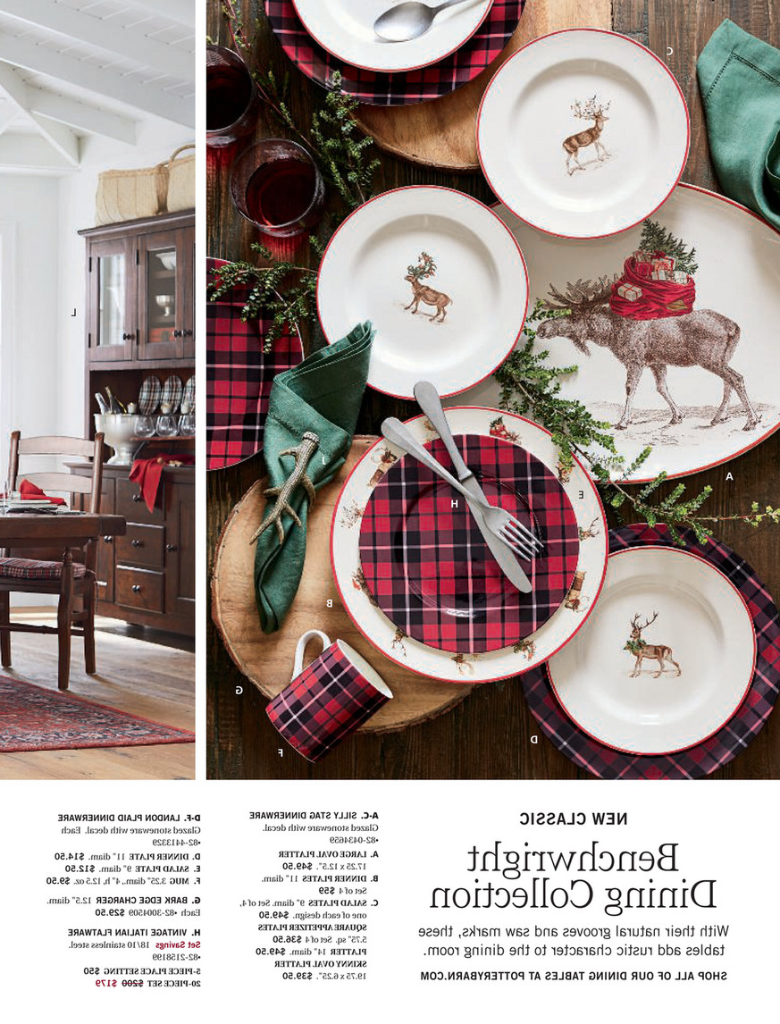 Most Recently Released Pottery Barn – Holiday 2017 D1 – Benchwright Extending Inside Alfresco Brown Benchwright Extending Dining Tables (View 16 of 25)