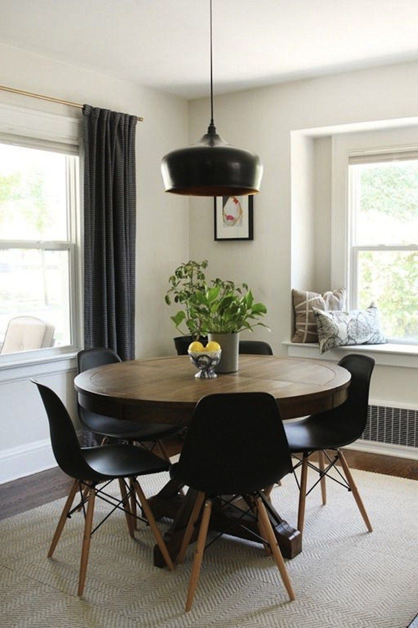 Most Recently Released Round Dining Table For 6 Leather Chairs Dining Tables Pertaining To Montalvo Round Dining Tables (View 10 of 25)