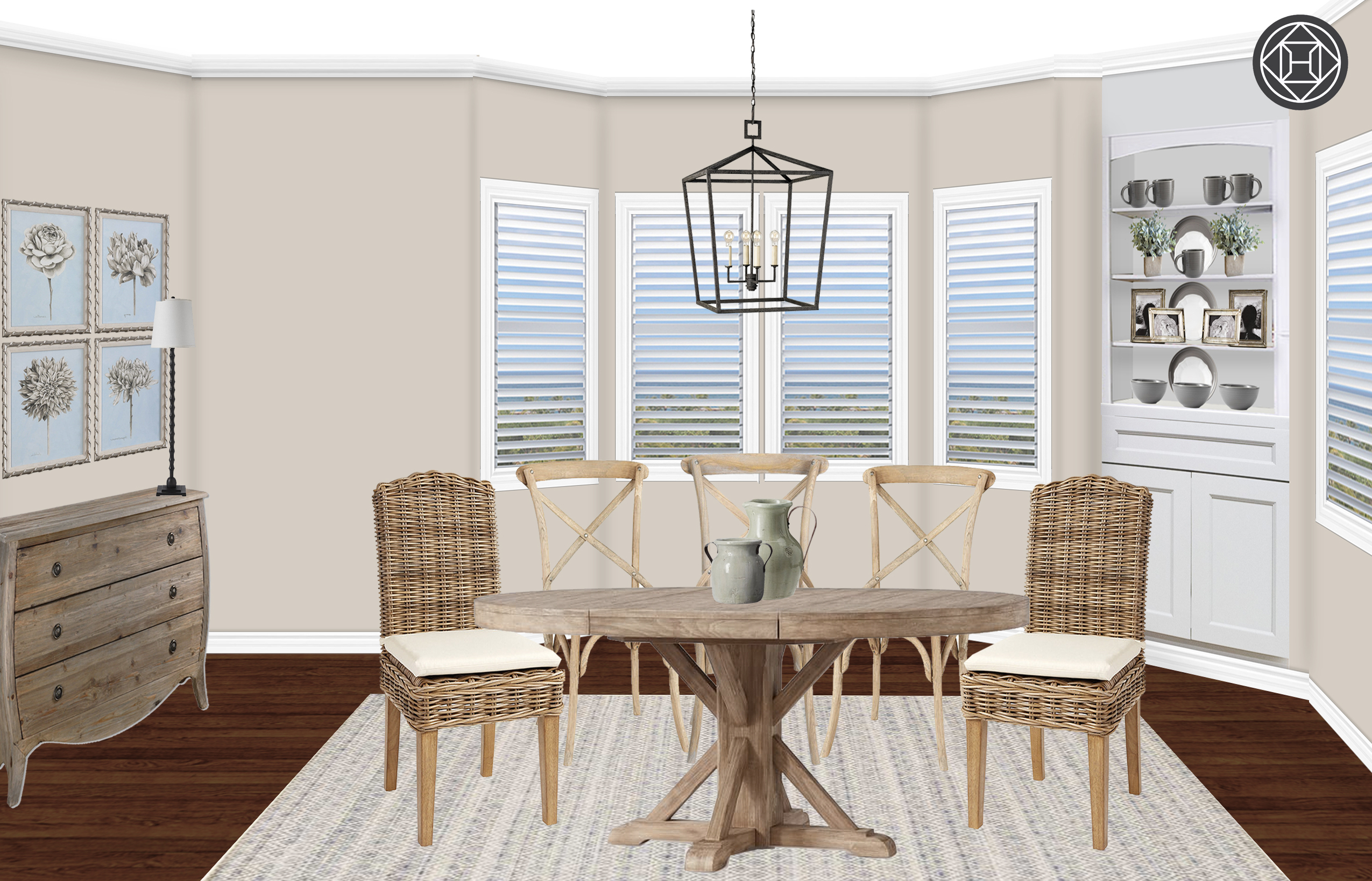 Most Recently Released Seadrift Banks Extending Dining Tables In Coastal, Traditional, Farmhouse Dining Room Design (View 13 of 25)