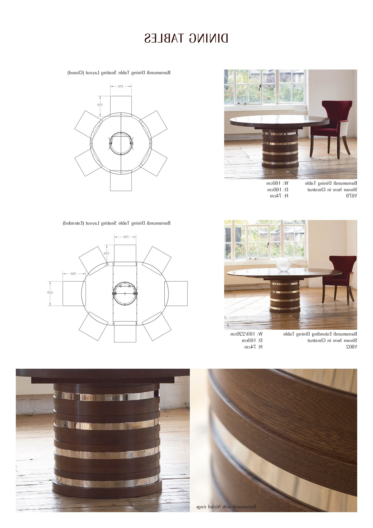 Most Recently Released William Yeoward Bespoke & Upholstery Furniture S17 Pages 1 Within Ingred Extending Dining Tables (View 24 of 25)