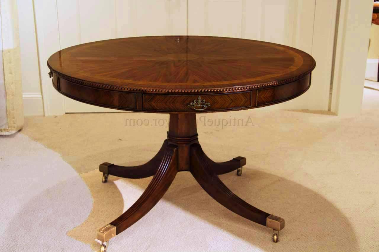 Most Up To Date Johnson Round Pedestal Dining Tables With Regard To 48 Inch Round Formal Duncan Phyfe Rosewood Dining Table With (View 7 of 25)