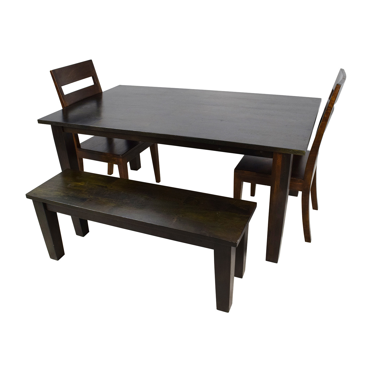 Most Up To Date Kipling Rectangular Dining Tables With Regard To Crate And Barrel Kitchen Table And Chairs – Martinique (View 18 of 25)