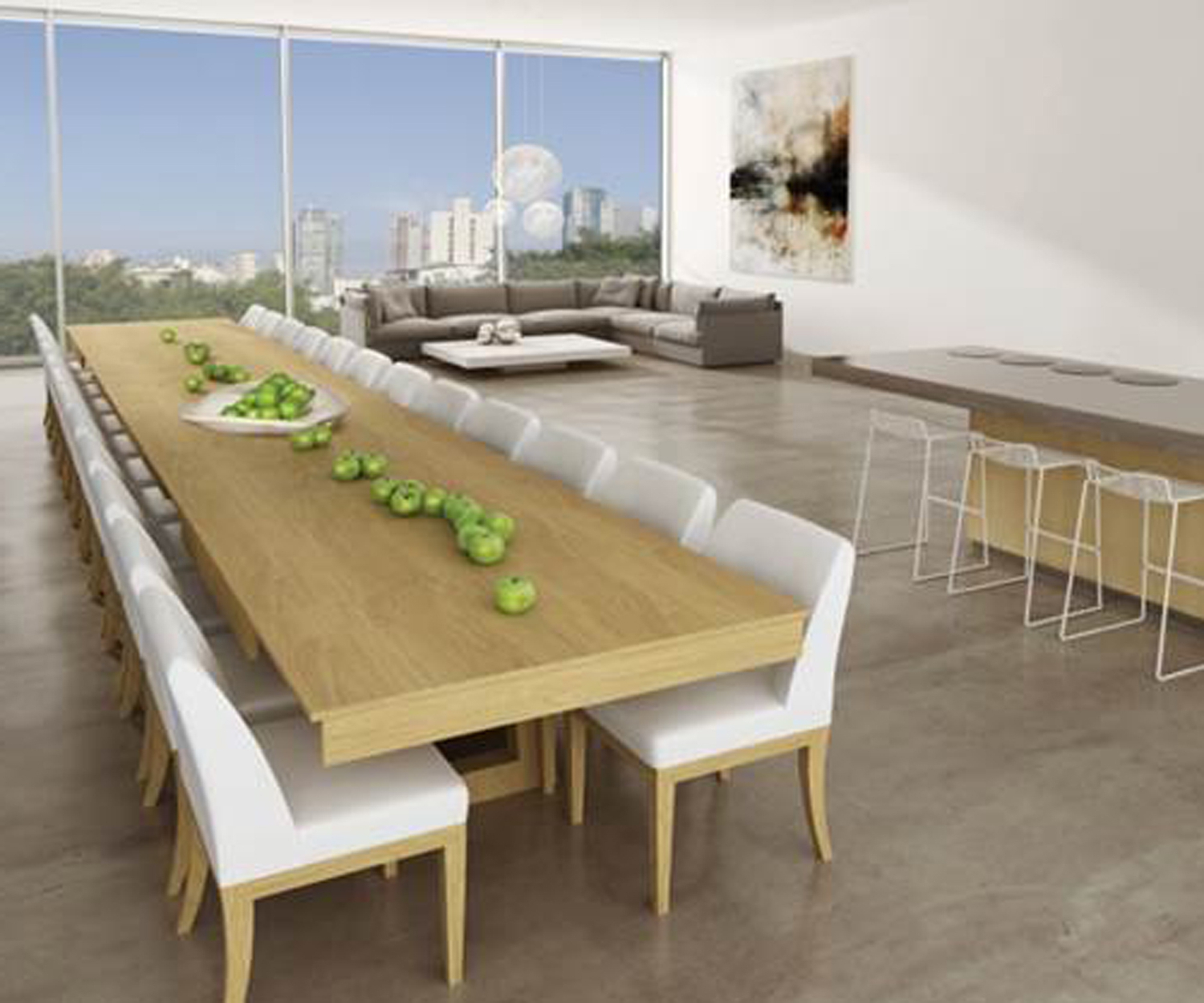 Most Up To Date Kitchen Tables That Extend – Martinique With Alfresco Brown Benchwright Pedestal Extending Dining Tables (View 20 of 25)