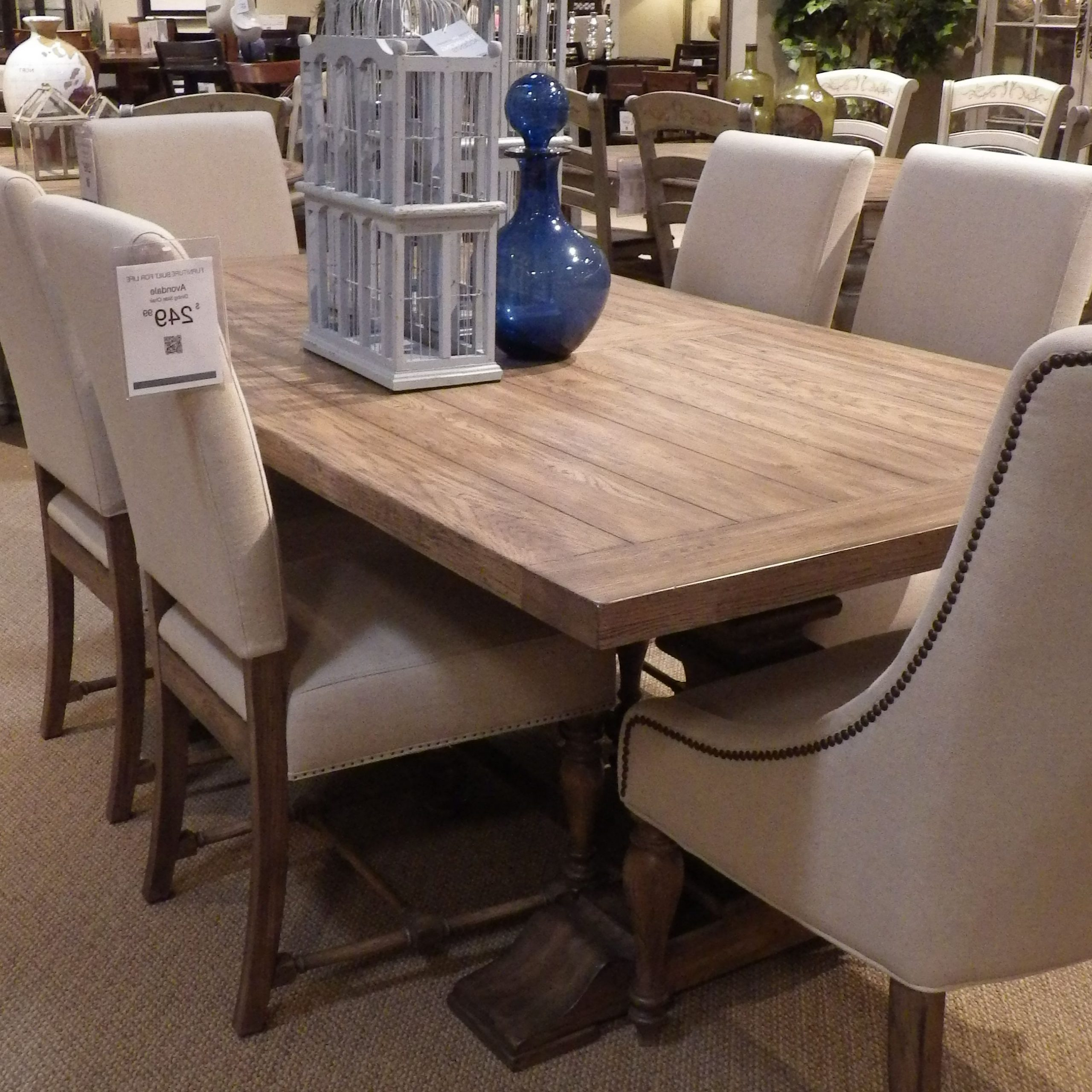 """Newest Avondale Counter Height Dining Tables Pertaining To Havertys Avondale Table 78""""long 1200 In  (View 2 of 25)"""