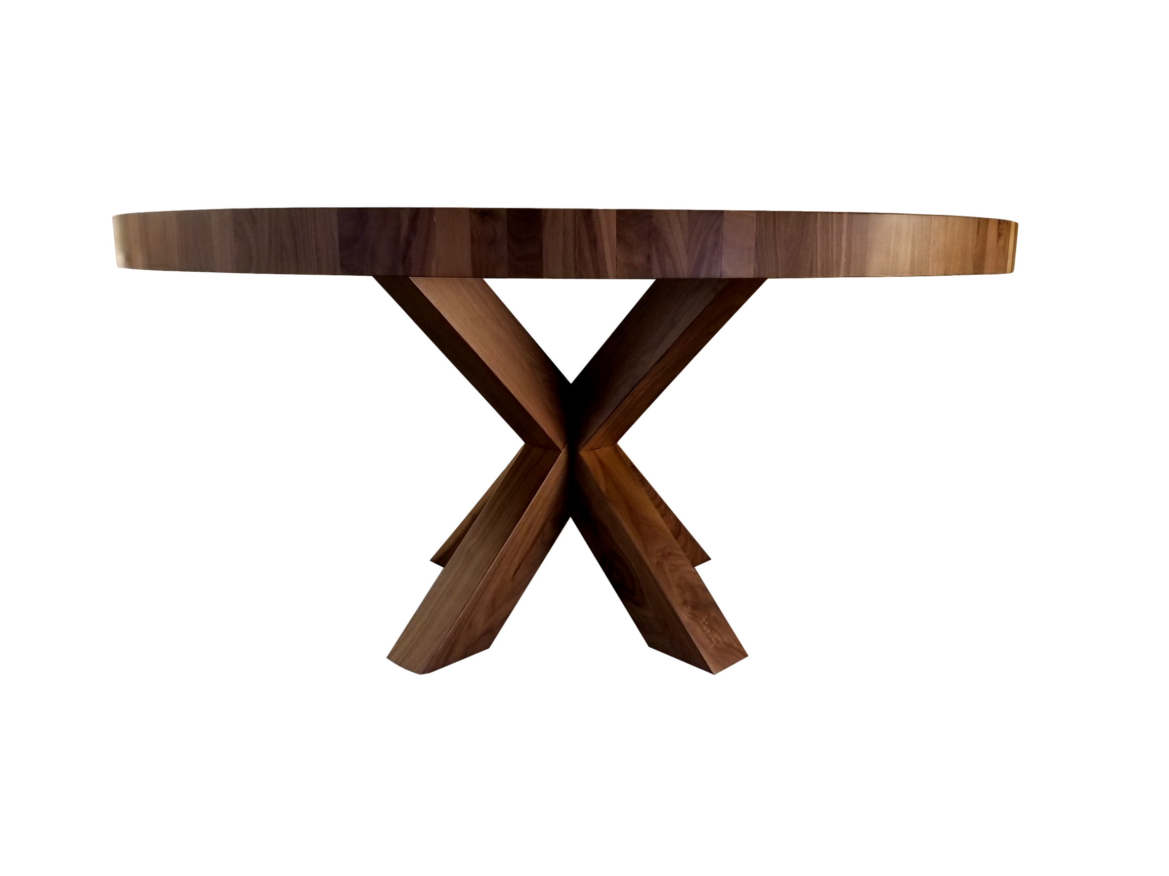 Newest Bartol Reclaimed Dining Tables for X Base Dining Table In 2019