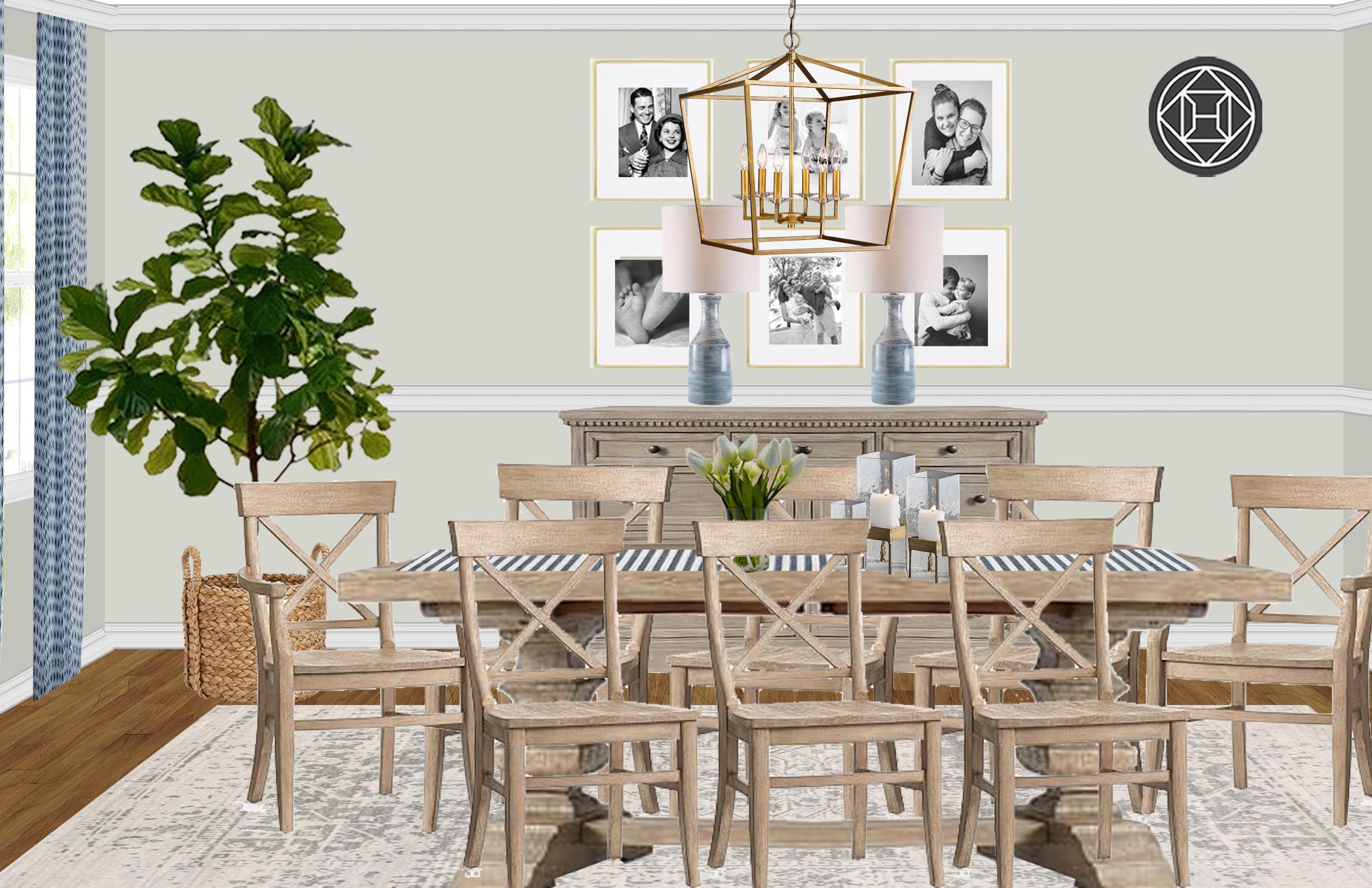 Newest Black Wash Banks Extending Dining Tables inside Transitional Dining Room Designhavenly Interior Designer