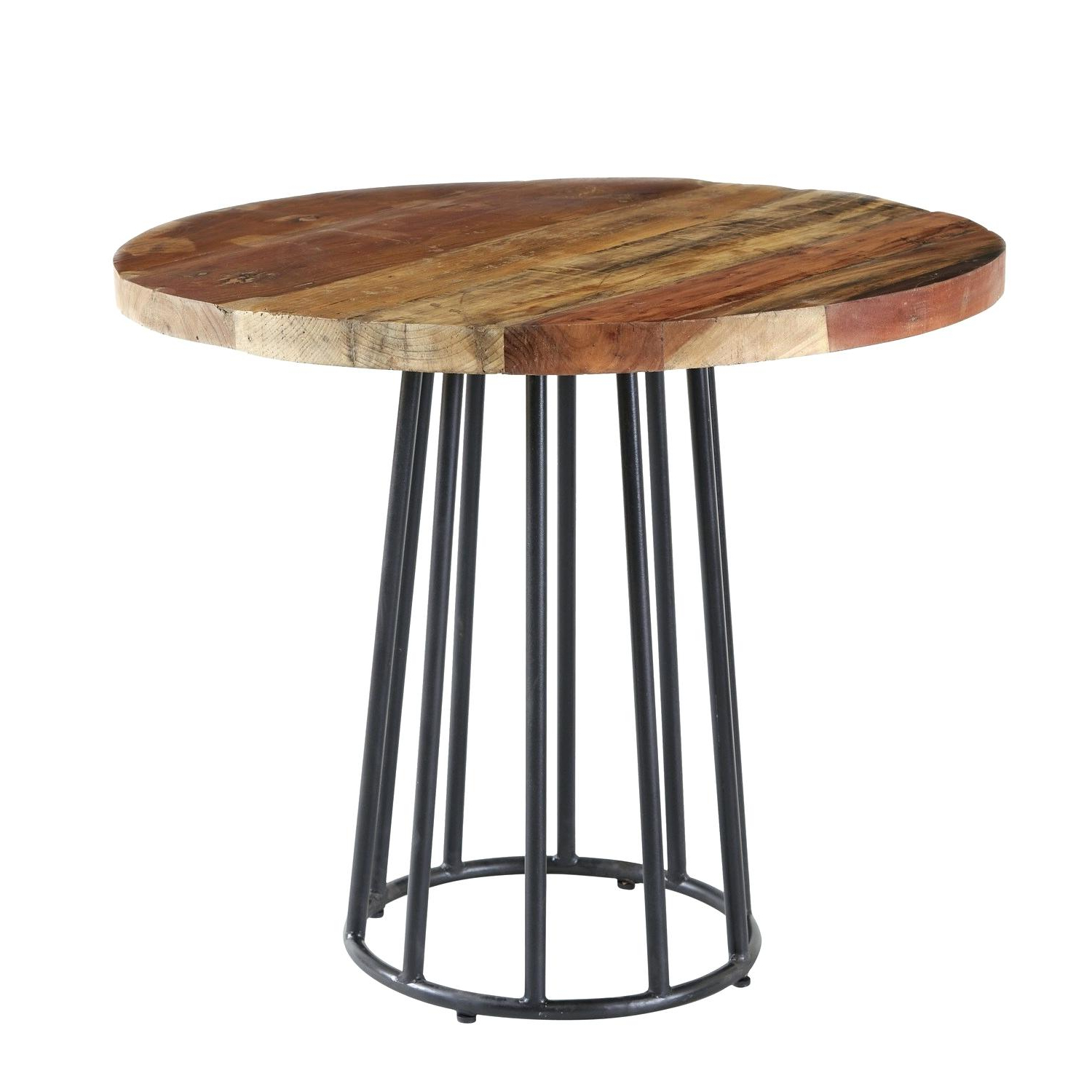 Newest Blackened Oak Benchwright Pedestal Extending Dining Tables in Salespots – Dining Table