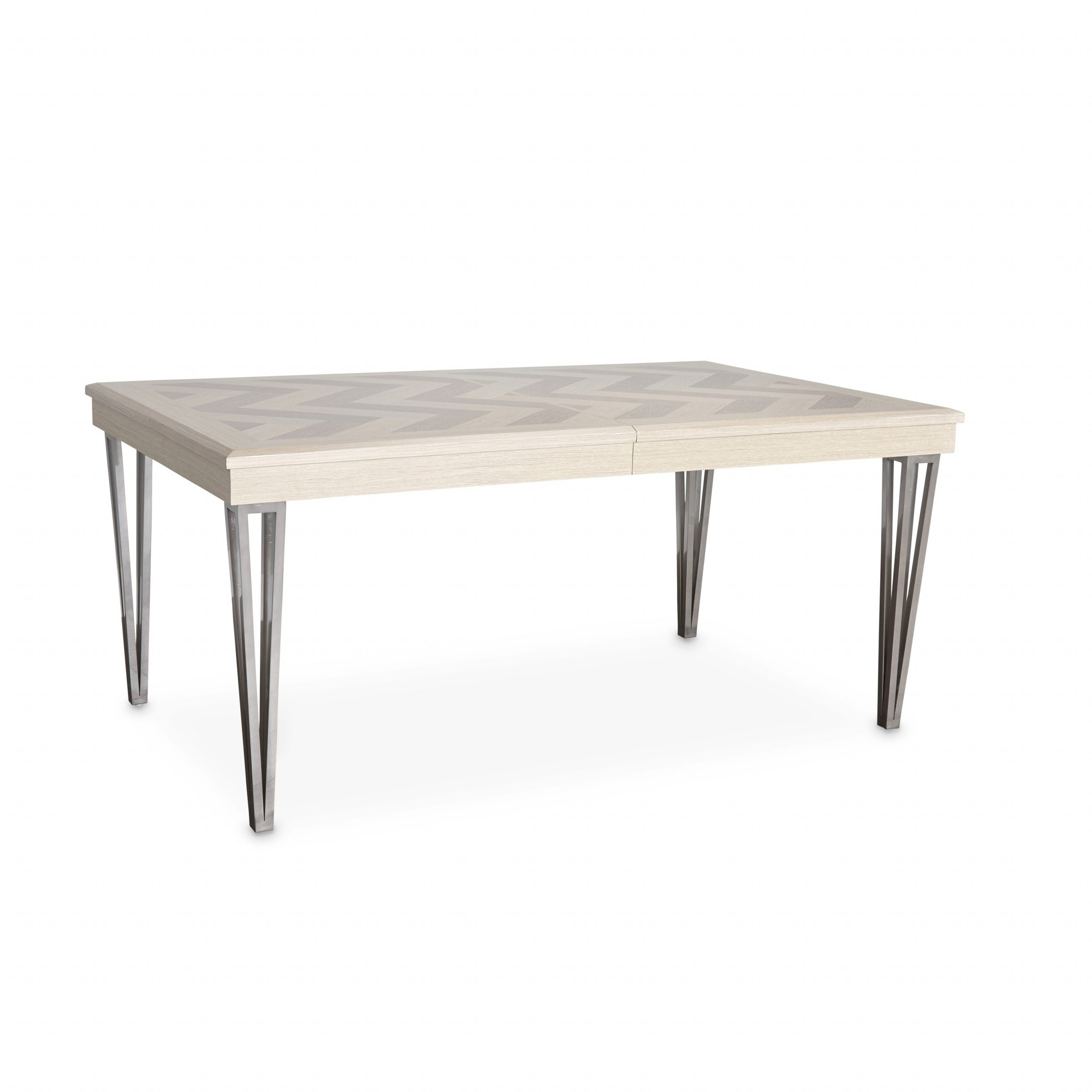 Newest Buy Michael Amini Kitchen & Dining Room Tables Online At in Menlo Reclaimed Wood Extending Dining Tables