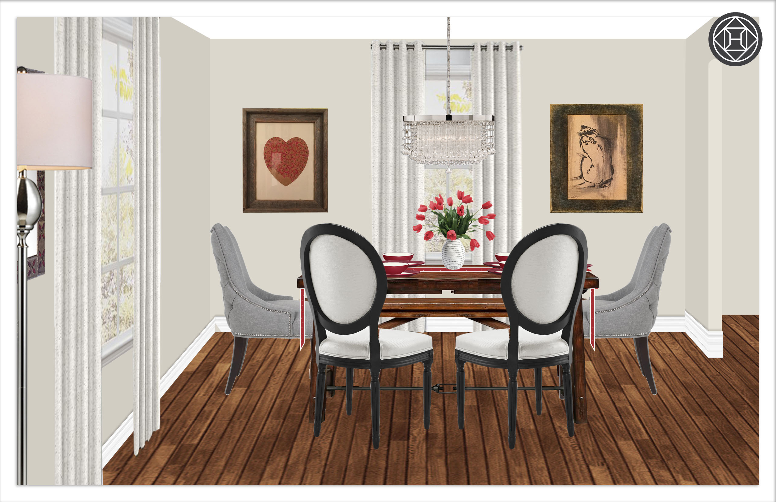 Newest Contemporary, Classic, Eclectic, Rustic Dining Room Design Pertaining To Tuscan Chestnut Toscana Dining Tables (View 23 of 25)