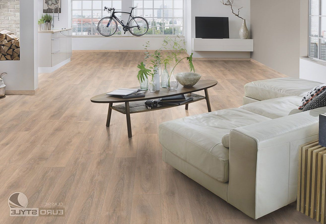 Newest Eurostyle Blonde Oak Classic Laminate Flooring In 2019 Within Shaw Dining Tables, Blonde Oak (View 3 of 25)