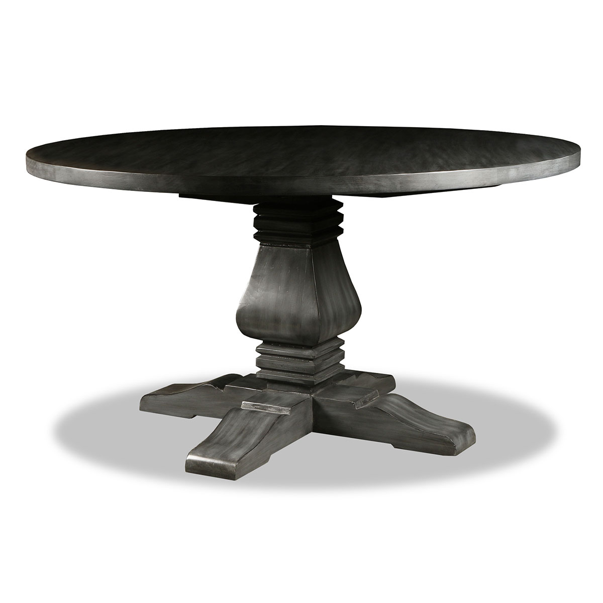 Newest Salvatore Reclaimed Wood Round Dining Table Within Seadrift Toscana Dining Tables (View 15 of 25)