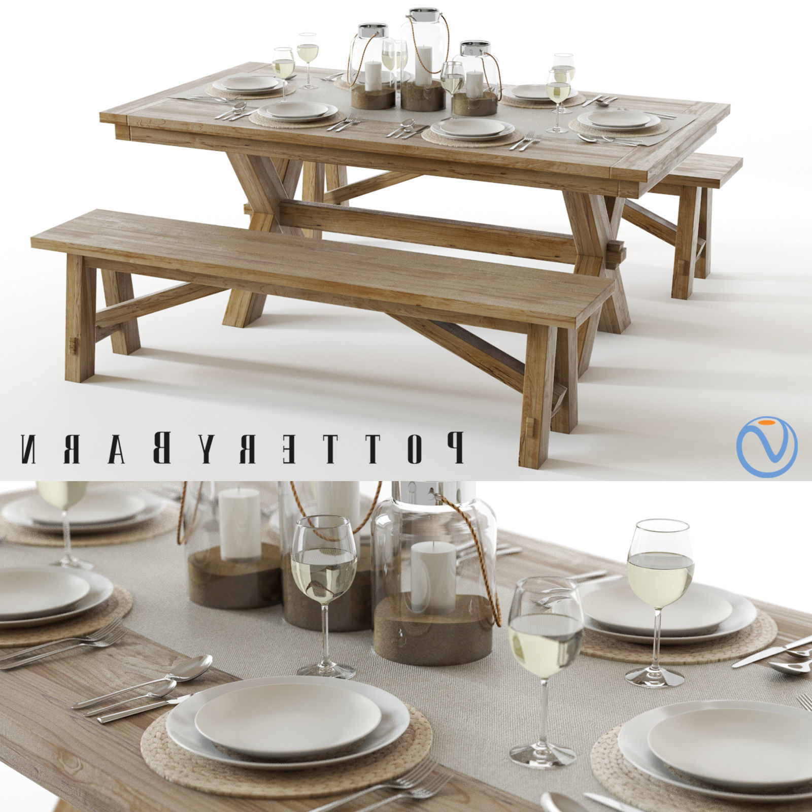 Newest Seadrift Toscana Dining Tables Intended For Pottery Barn Toscana Set (View 10 of 25)