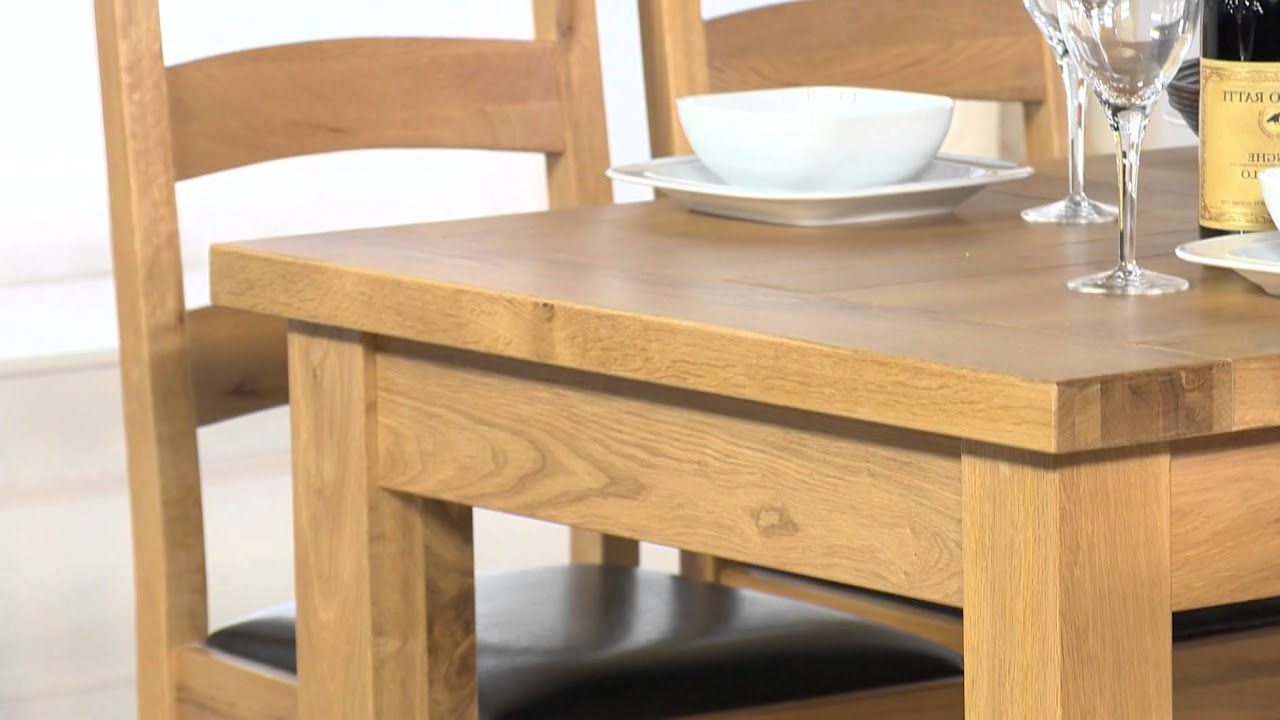 Normandy Extending Dining Table & Vancouver Chairs in Latest Normandy Extending Dining Tables
