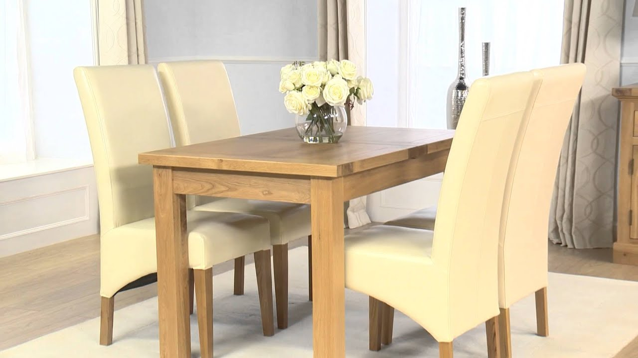 Normandy Extending Dining Tables with Recent Normandy 120Cm Extending Dining Set - Cannes Cream