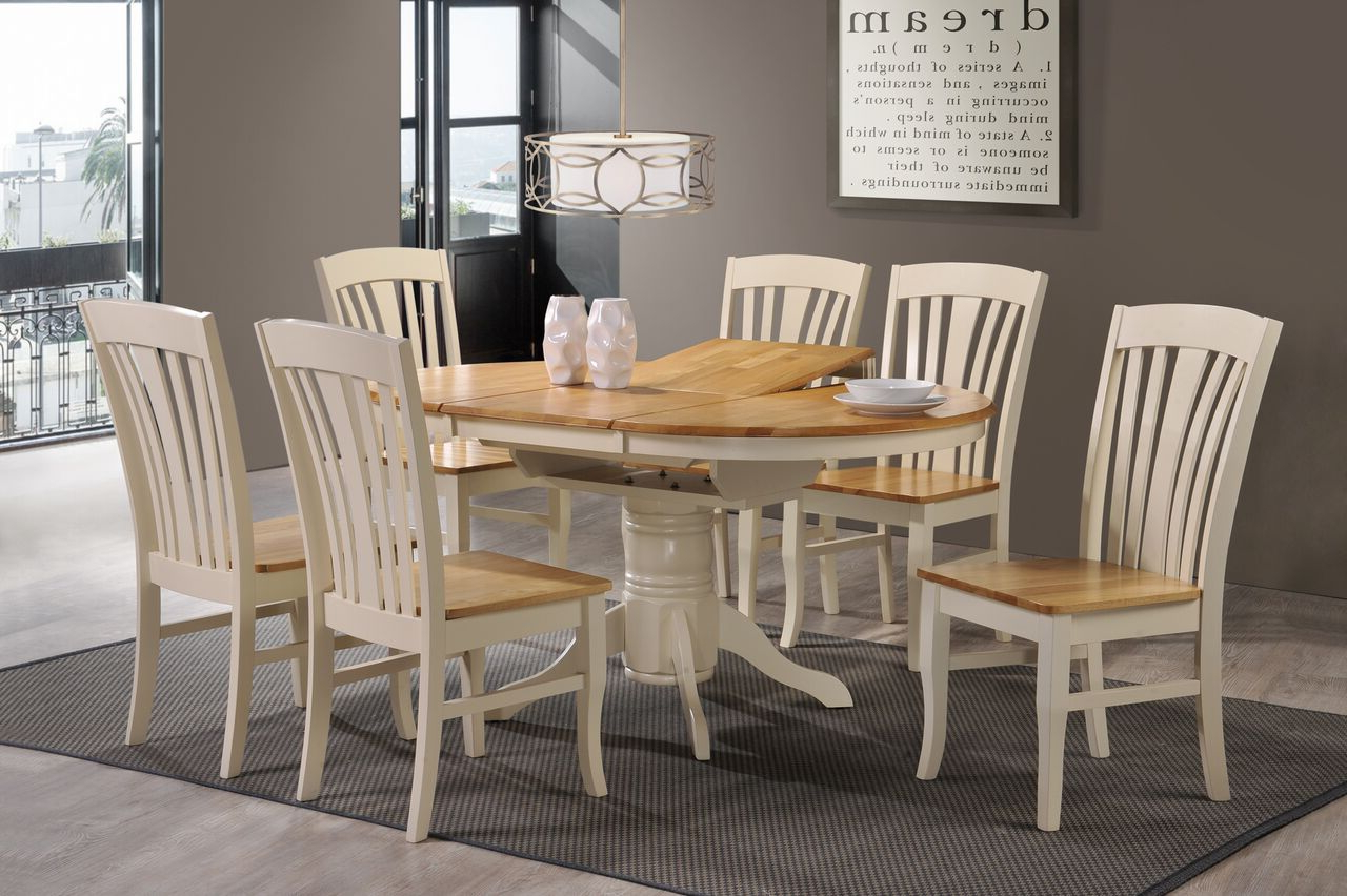 Normandy Extending Dining Tables with regard to Current Normandy Dining Set