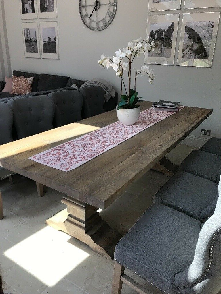 Normandy Oak Dining Table
