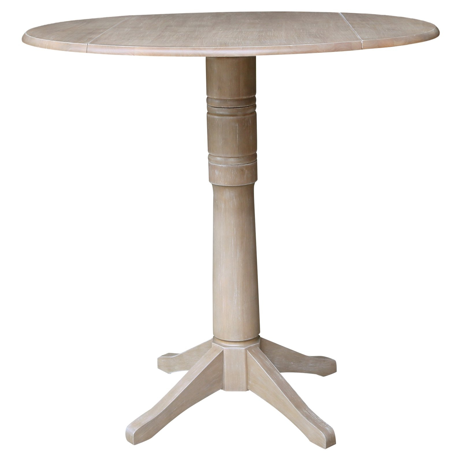 Popular Alexandra Round Marble Pedestal Dining Tables Within International Concepts Alexandra 42 In (View 10 of 25)
