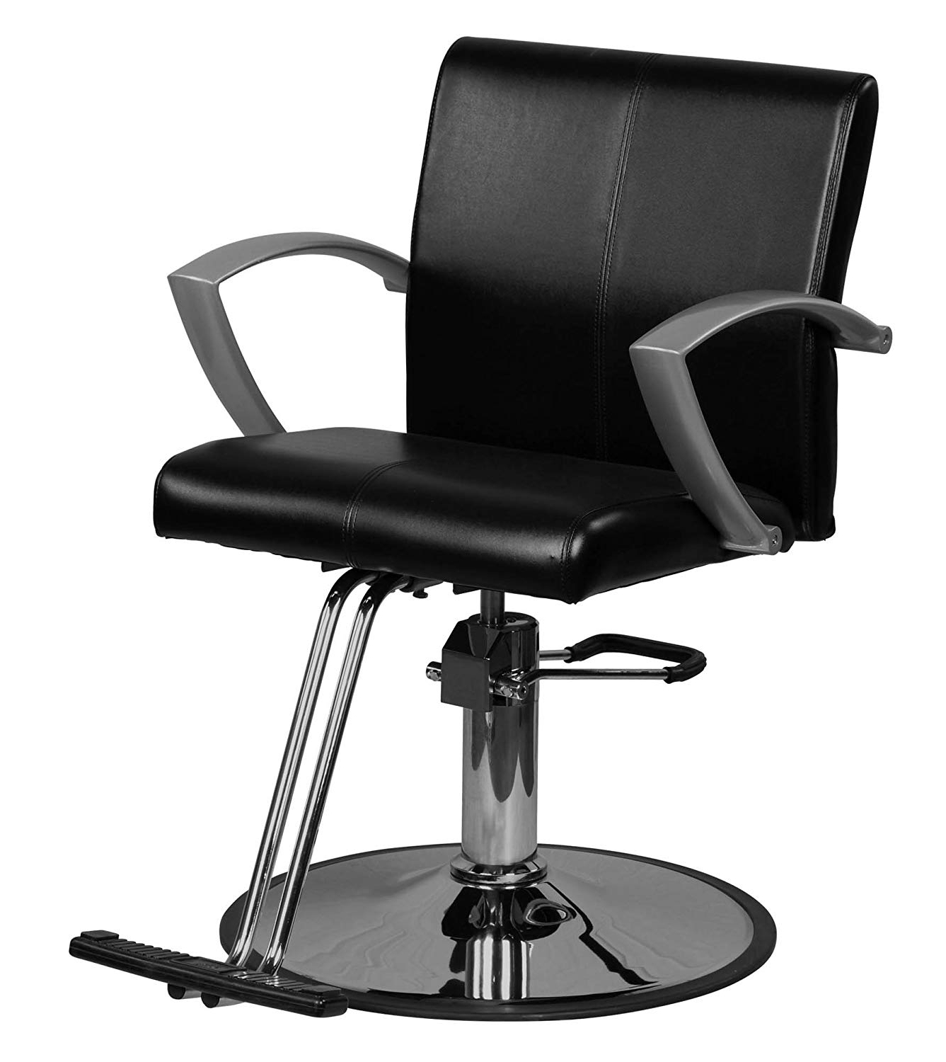 "Popular Amazon: Icarus""niro"" Black Contemporary Styling Chair Regarding Icarus Round Bar Tables (View 4 of 25)"