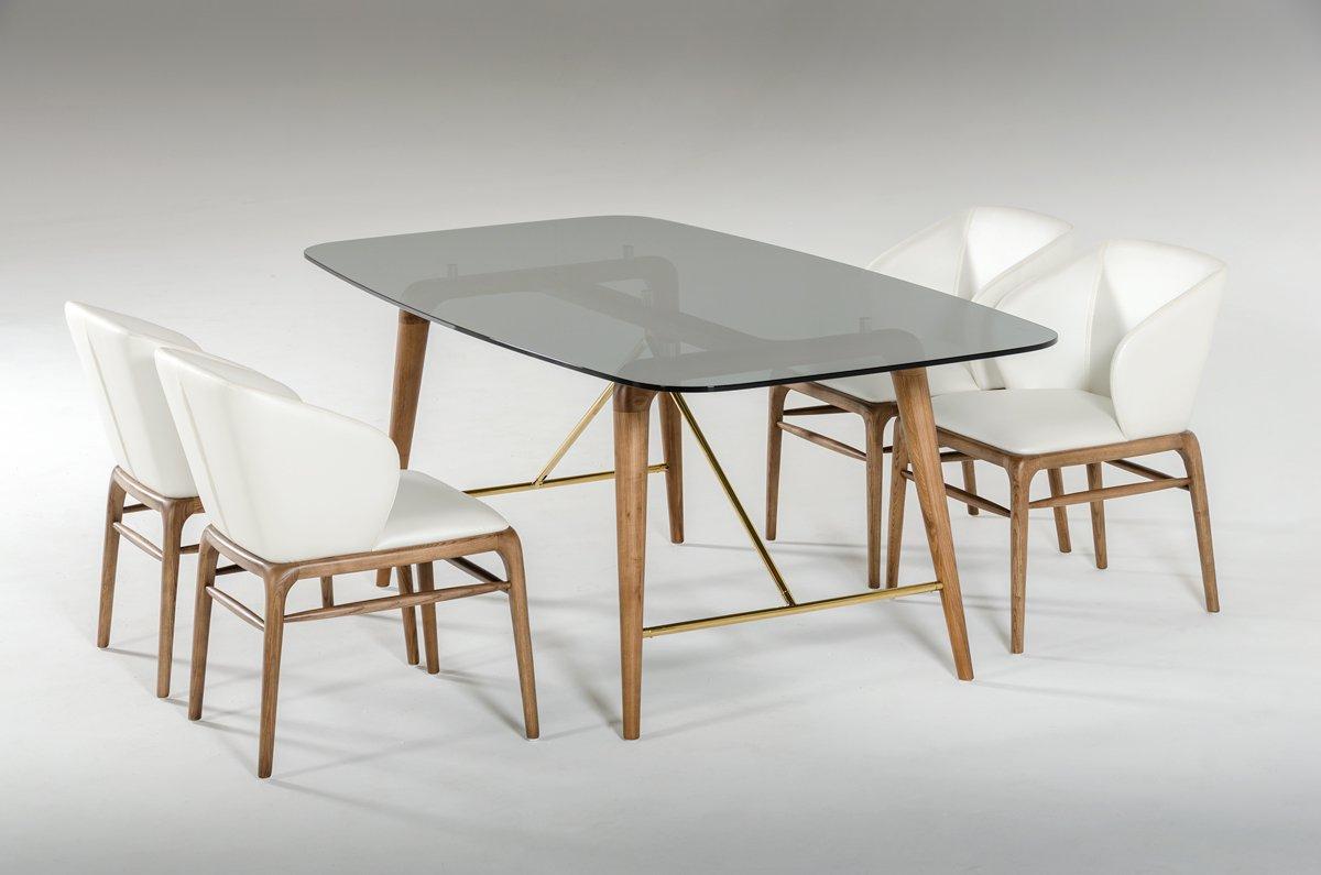 Popular Amazon – Vig Furniture Modrest Kipling Collection Modern Throughout Kipling Rectangular Dining Tables (View 4 of 25)