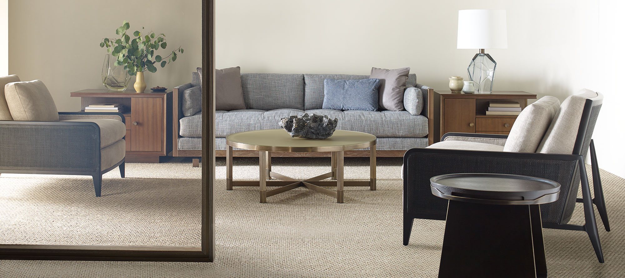 Popular Shaw Dining Tables, English Brown With The Barbara Barry Collection (View 8 of 25)