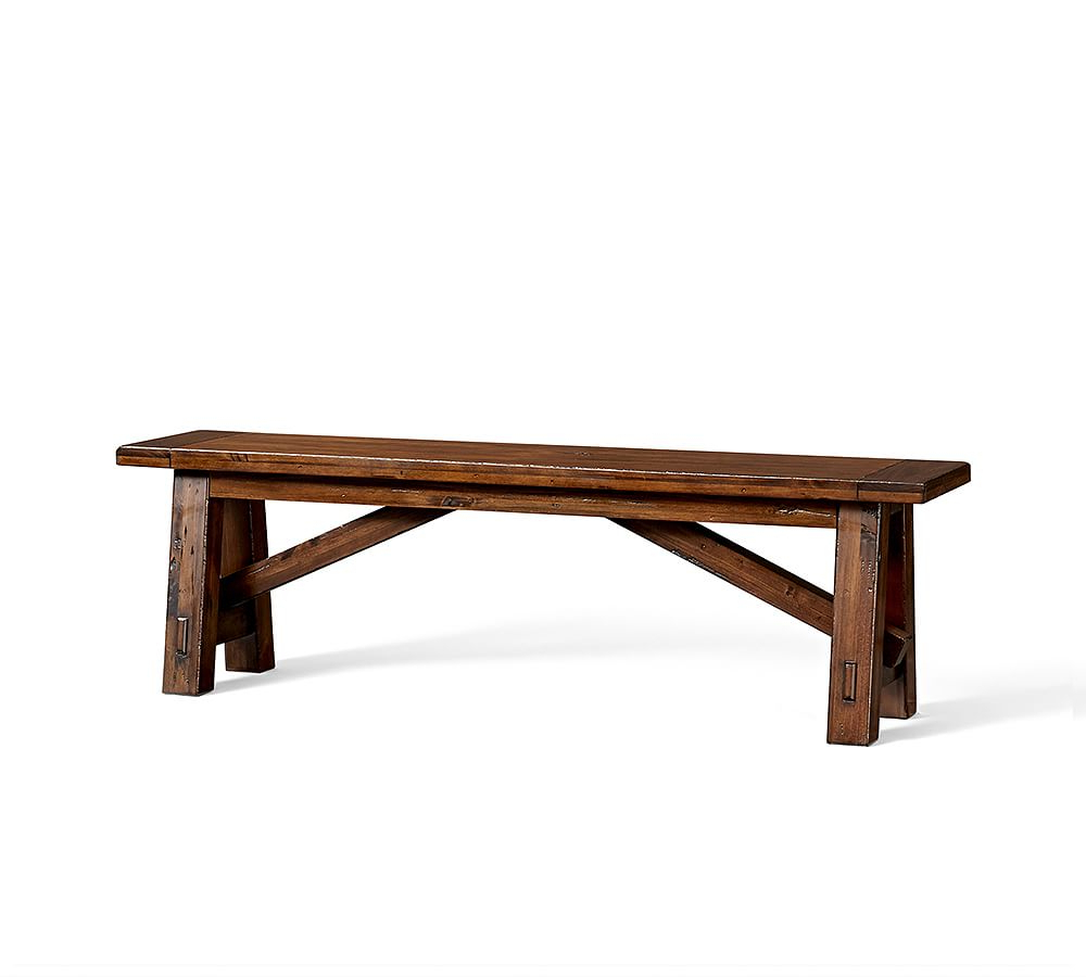 Popular Toscana Bench, Small, Tuscan Chestnut Stain – Wood Entryway For Tuscan Chestnut Toscana Dining Tables (View 10 of 25)