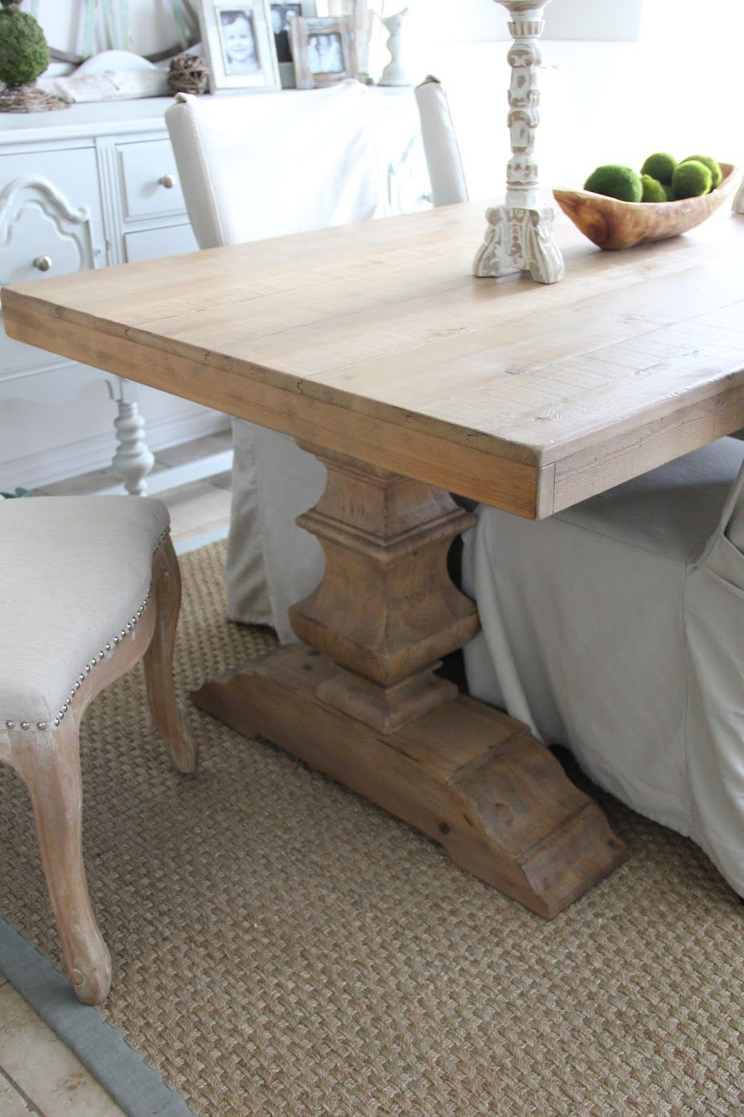 Pottery Barn Banks Dining Table In  (View 4 of 25)