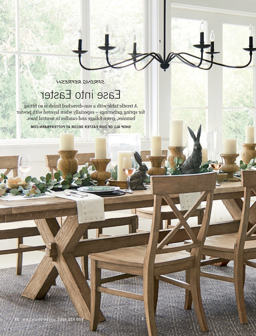 Pottery Barn – Spring 2017 D2 – Toscana Extending Dining With Regard To Preferred Seadrift Toscana Extending Dining Tables (View 12 of 25)