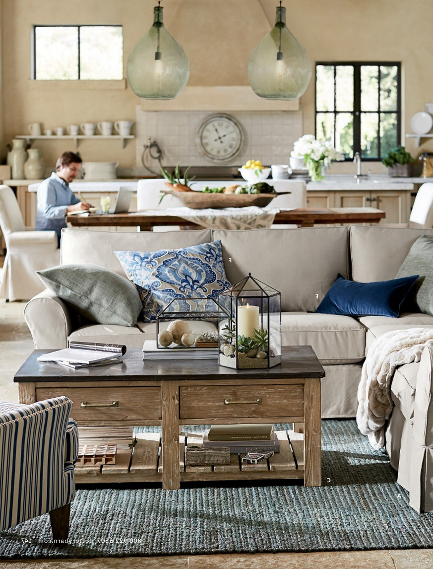 Pottery Barn – Spring 2017 D3 – Stafford Reclaimed Pine Throughout Famous Stafford Reclaimed Extending Dining Tables (View 18 of 25)