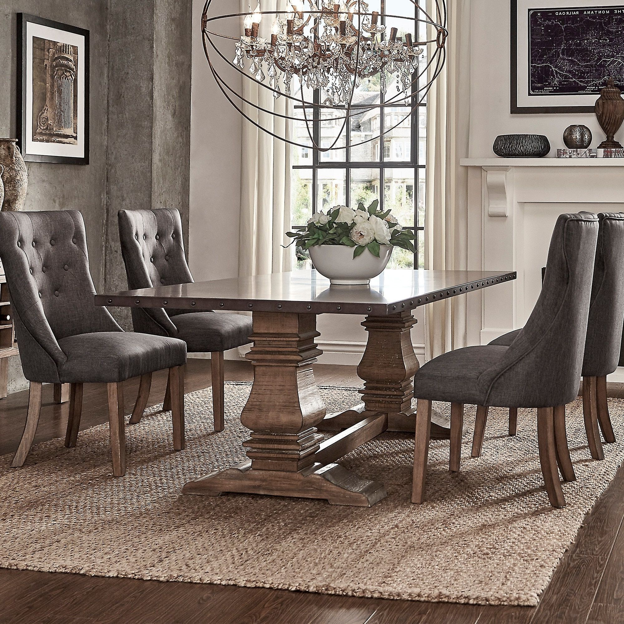 Preferred E1A28 Lorraine Extending Dining Table C Hewn Oak C Pottery For Hewn Oak Lorraine Pedestal Extending Dining Tables (View 16 of 25)