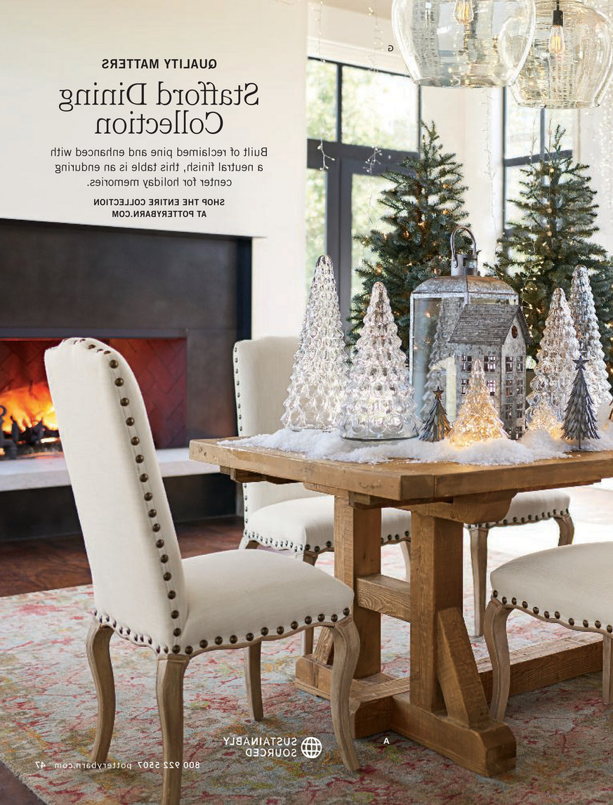 Preferred Stafford Reclaimed Extending Dining Tables Throughout Pottery Barn – Holiday 2017 D1 – Stafford Reclaimed Pine (View 5 of 25)
