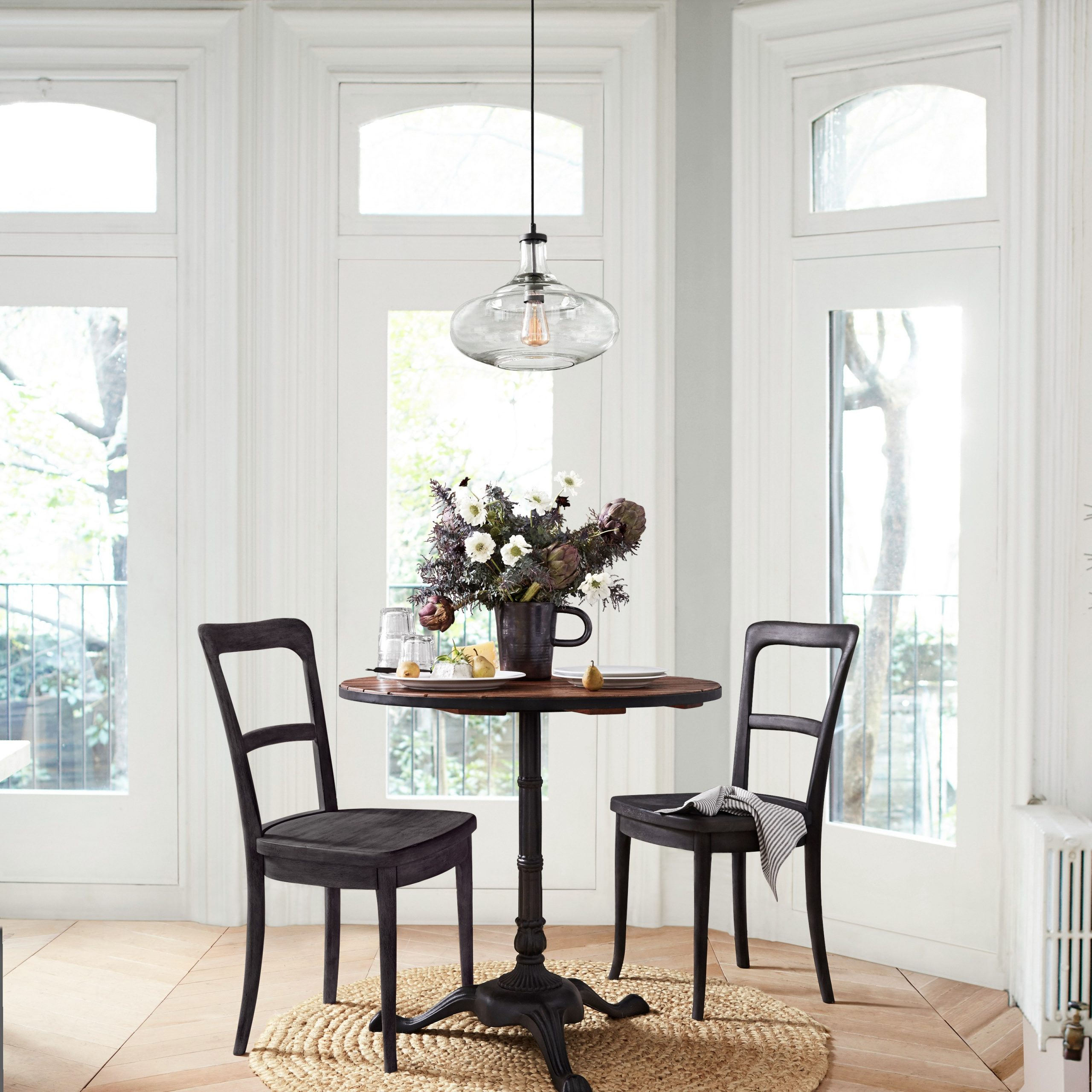 Rae Round Marble Bistro Tables for Most Up-to-Date Pottery Barn's New Small-Space Line